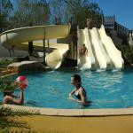 bassin reception toboggans camping domaine de l oree vendee