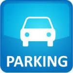 logo parking bleu