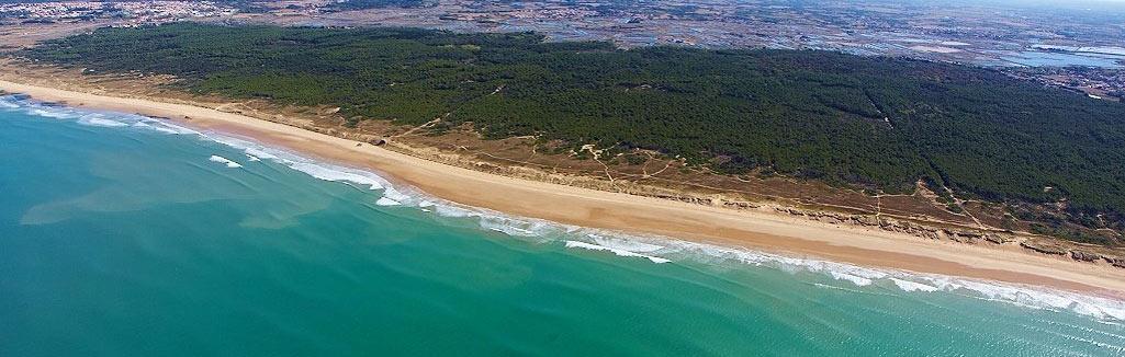 camping accès direct plage de Sauveterre Les Sables d'Olonne