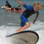 cours de surf avec le camping en vendée