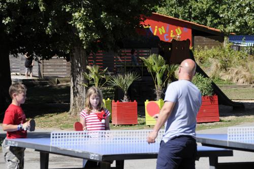 Tennis de Table faisant partie des nombreuses animations aux sables d'olonne