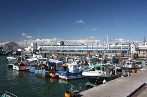 Vieux Port de peche en mer des Sables d'Olonne