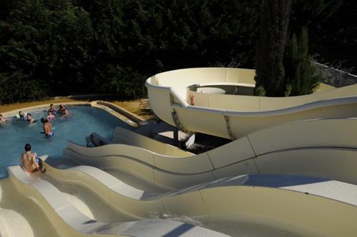 camping avec toboggans aquatiques au Domaine de l'Oree