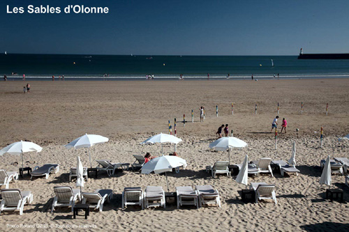 Camping avec acces direct plage
