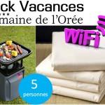 pack vacances 5p camping domaine de l oree vendee 4 etoiles