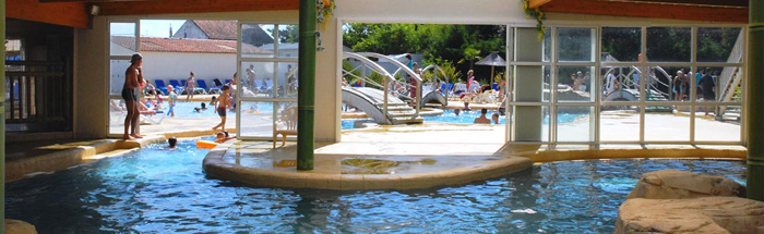 Camping 4 toiles piscine couverte et chauff e camping - Camping avec piscine couverte chauffee ...