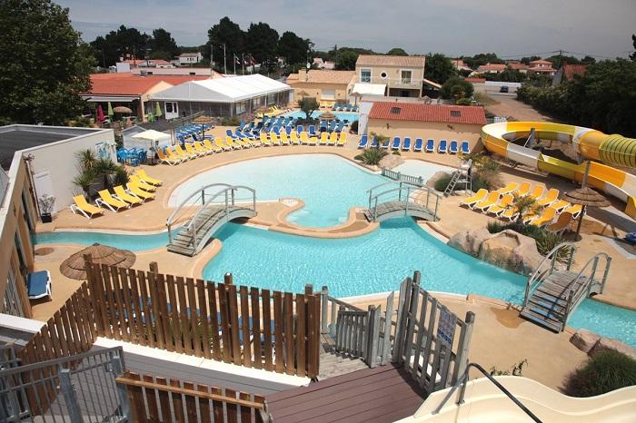 parc aquatique du camping 4 étoiles en Vendée