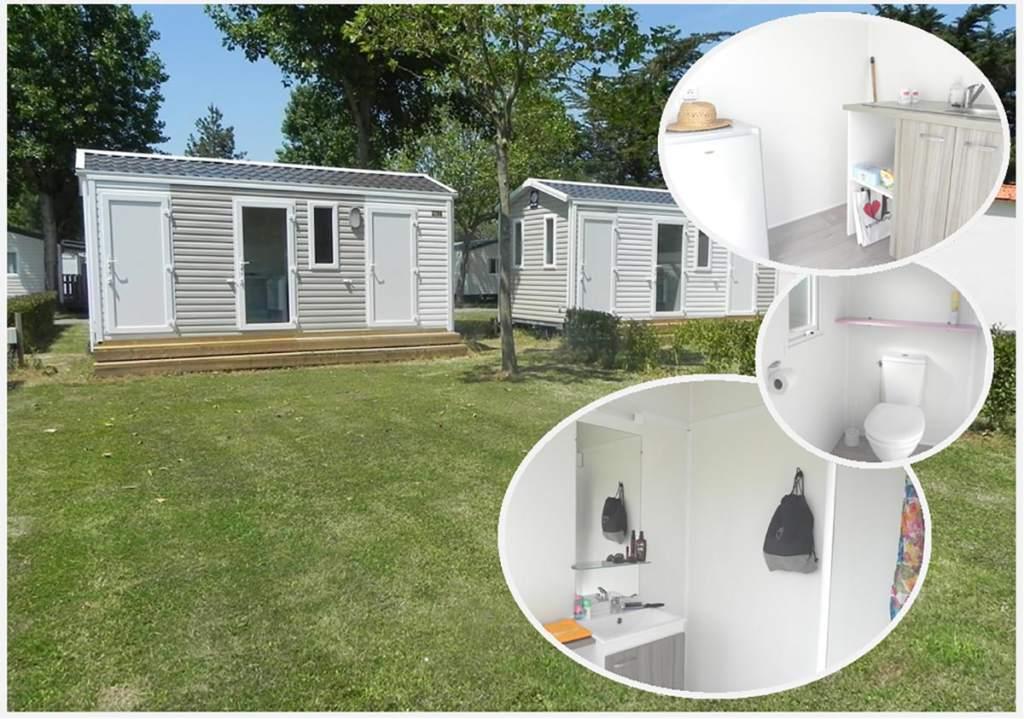 emplacement avec sanitaire privé en Vendée