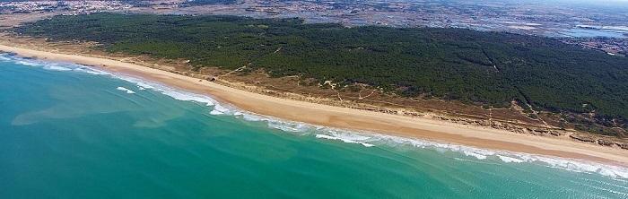 camping avec accès direct à la plage