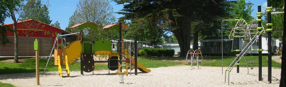 aire de jeux camping l'orée Les Sables d'Olonne