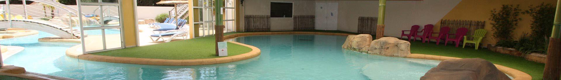 piscine couverte camping Les Sables d'Olonne