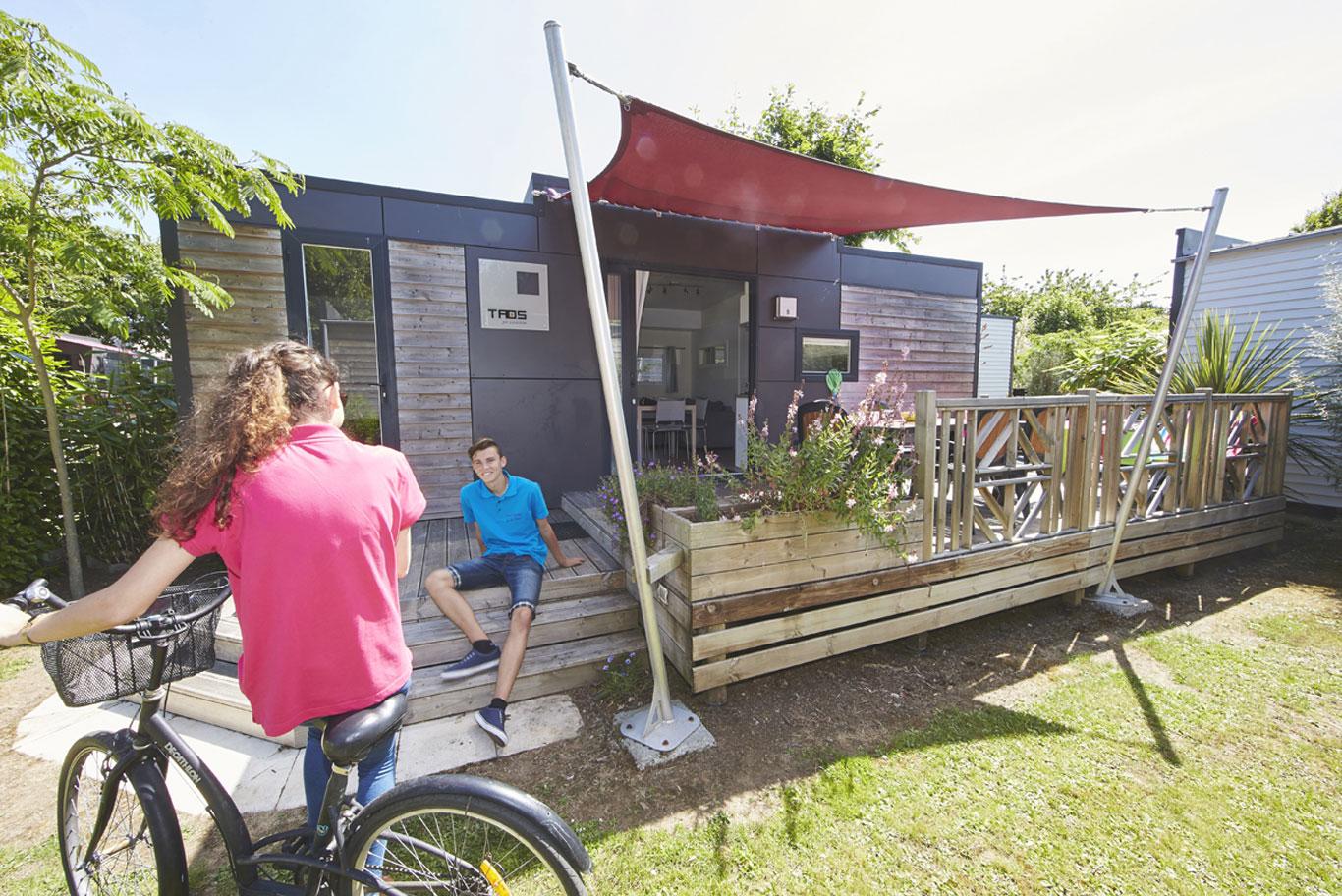 Les hébergements du camping le Domaine de l'Orée aux Sables d'Olonne