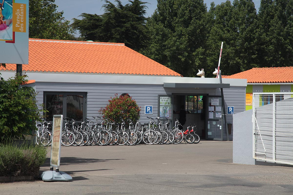 location vélo camping