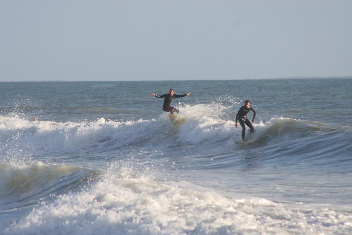 surfeurs Les Sables d'Olonne