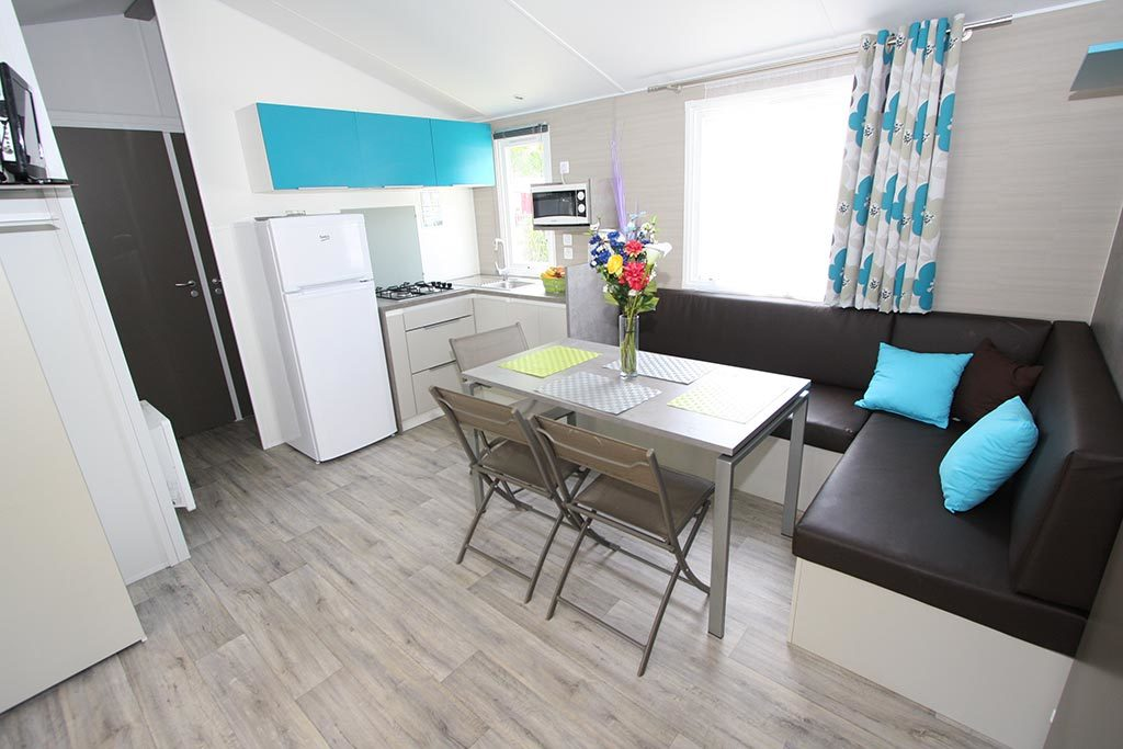 mobil home camping luxe Vendée