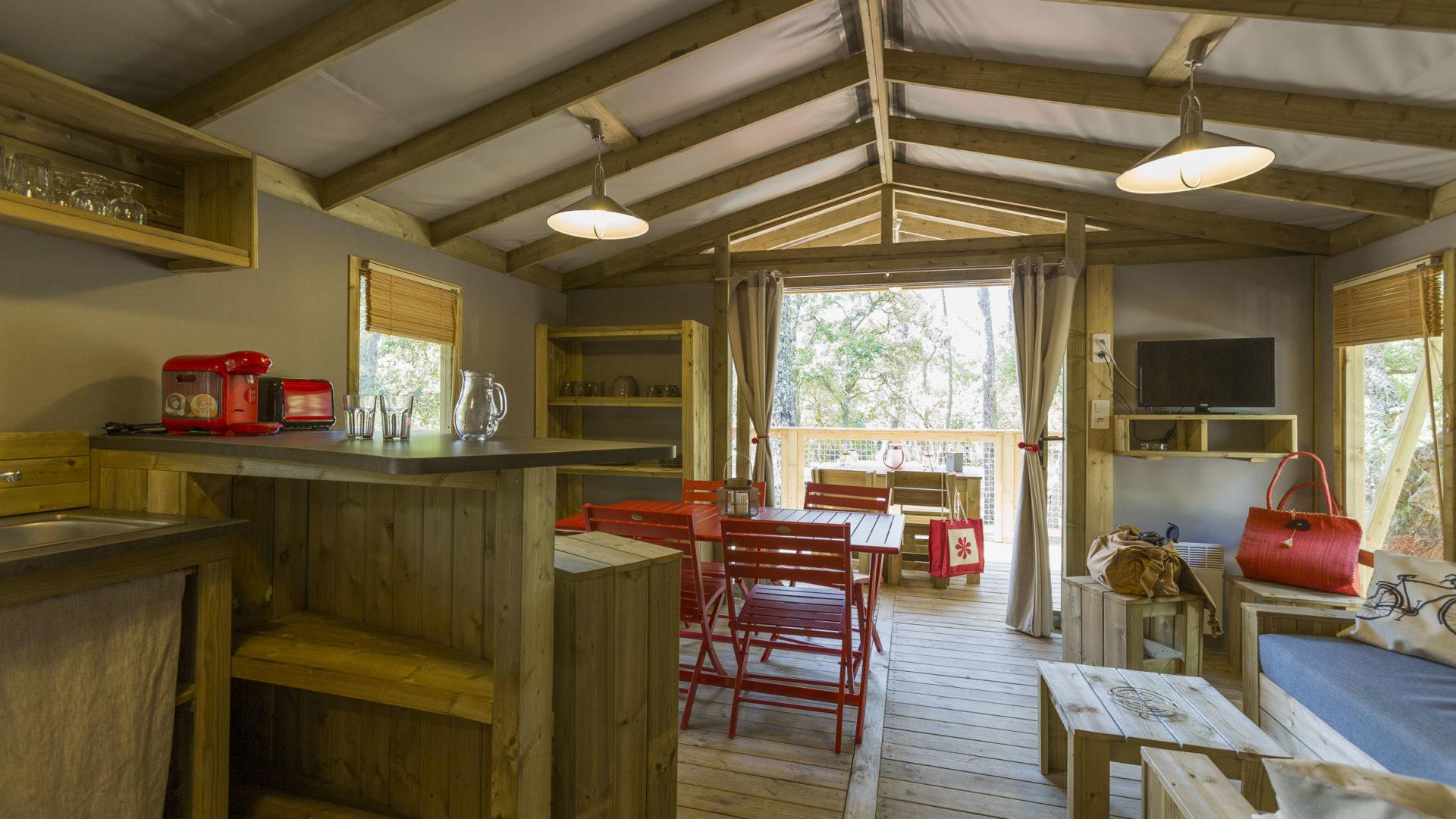 Ecolodge Camping Domaine de l'Orée Sables d'Olonne