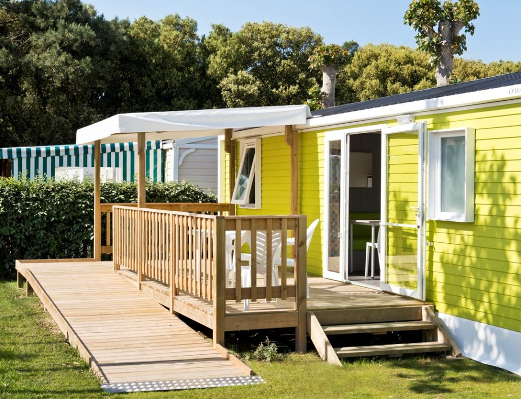 location du camping luxe