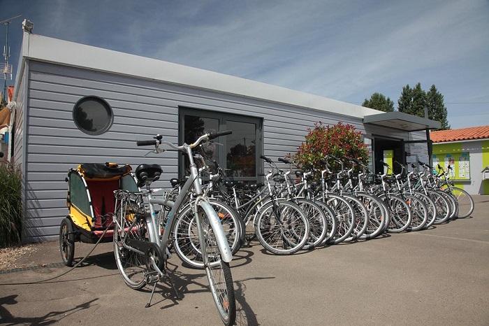 location vélo au camping luxe aux Sables d'Olonne