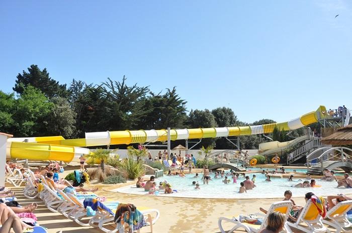 grand parc aquatique au camping