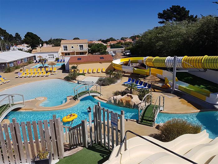 parc aquatique camping de luxe Orée en Vendée