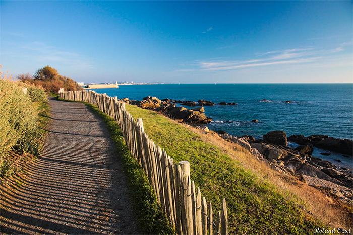 location accès direct à la plage au Domaine de L'Orée