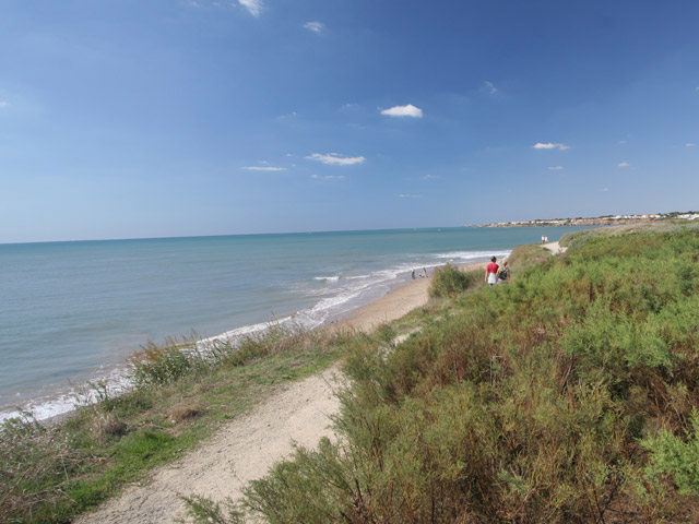camping accès direct à la plage