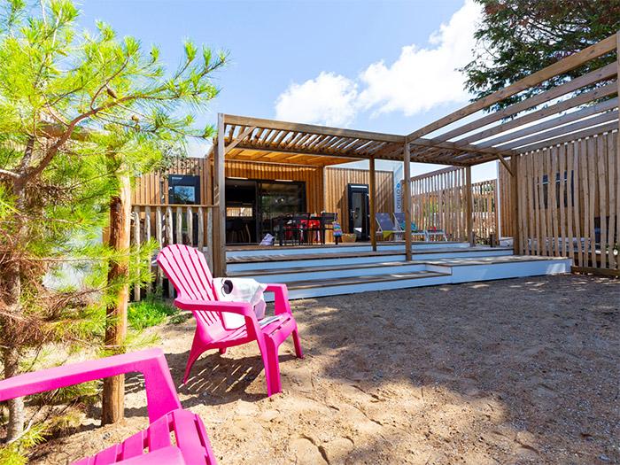hôtellerie de plein air haut de gamme en Vendée