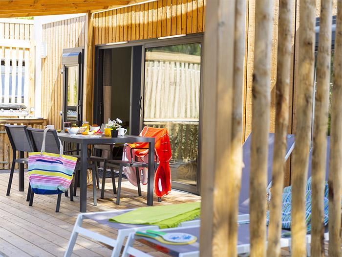 location hôtellerie de plein air haut de gamme en Vendée