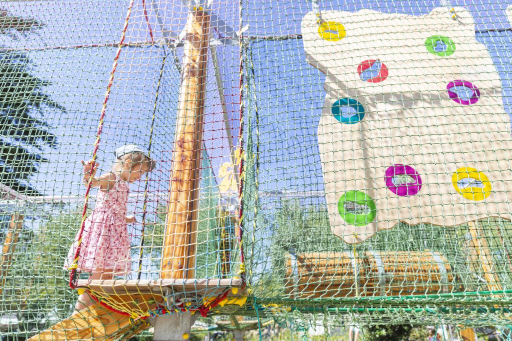 aire de jeux pour les enfants camping Vendée