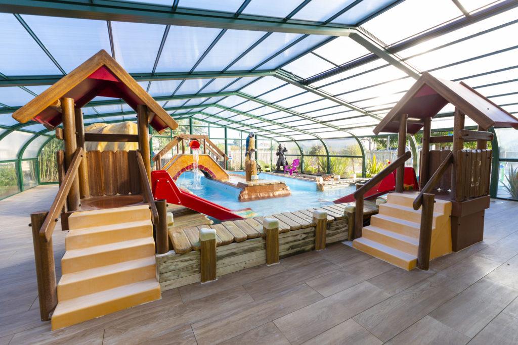 Espace aqualudique du camping en Vendée
