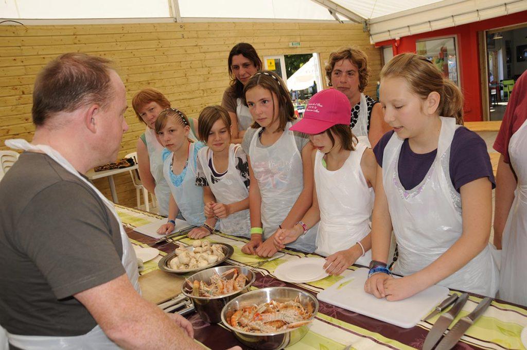 camping animé en Vendée