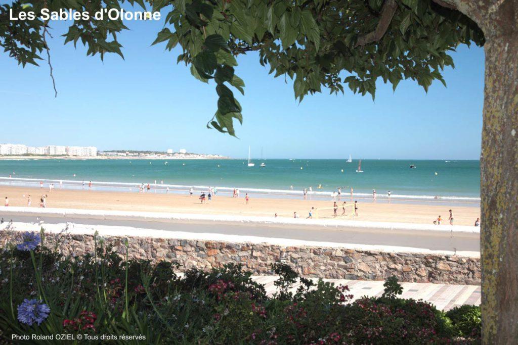 camping accès aux plages des Sables d'Olonne
